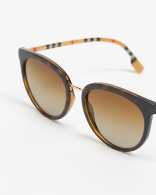 Burberry 0BE4316 - Sunglasses (Havana)