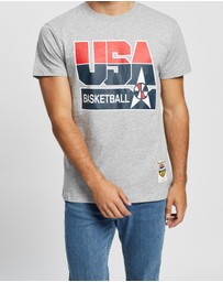 Mitchell & Ness - USA Basketball Logo SS Tee