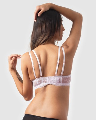 Projectme Intimates Heroine Plunge Nursing Bra   Flexi Underwire - Soft Cup Bras (Lilac)