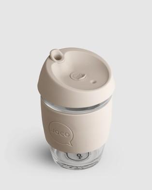 Joco Cups Joco Cup   Utility 12oz - Home (White)