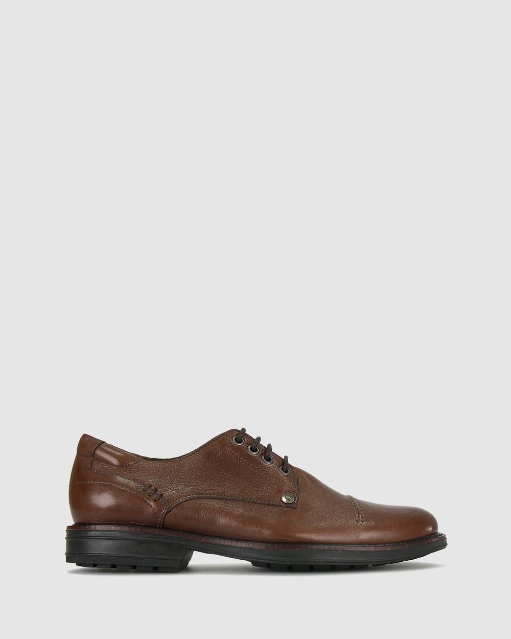 Airflex Owen Leather Shoes Casual Tan