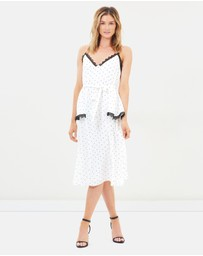 Cooper St - Portia Lace Trim Slip Dress