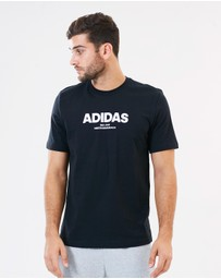 adidas Performance - Essential All Capitals Tee