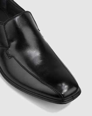 Hush Puppies Cahill - Dress Shoes (Black)