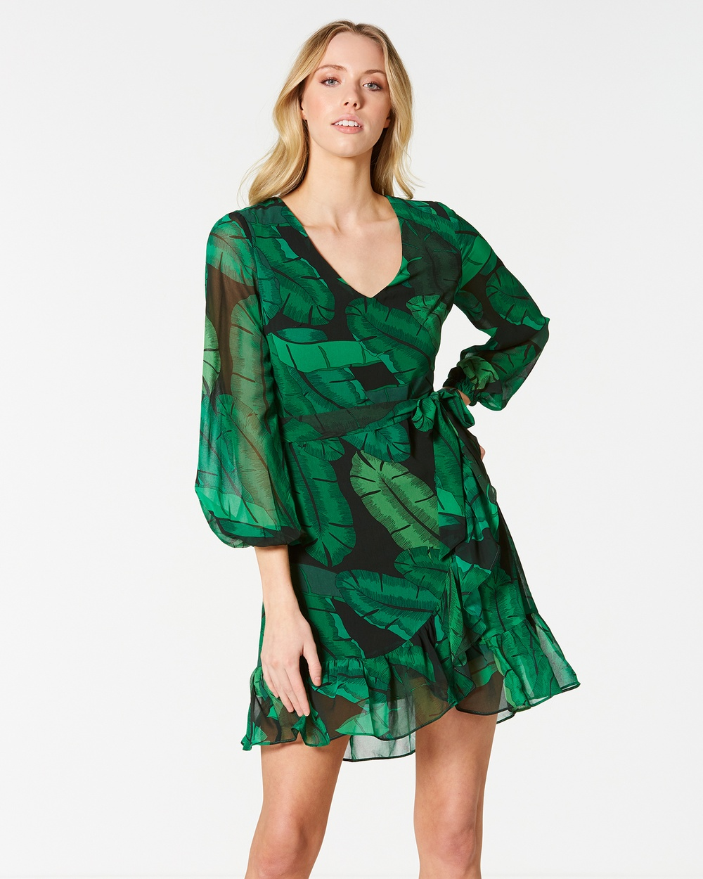 Stella Palm Springs Dress Printed Dresses Print Palm Springs Dress