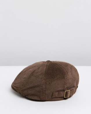 Fallen Broken Street The Bandit - Hats (Brown Corduroy)