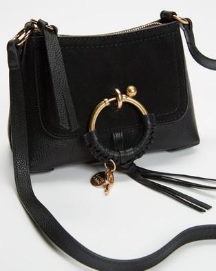 See By Chlo?? Joan Mini Hobo Cross Body Bag - Handbags (Black)
