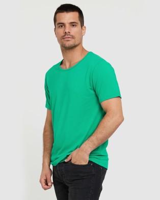 Bamboo Body Bamboo Crew Neck T Shirt - T-Shirts & Singlets (Emerald)