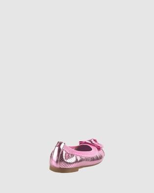 Candy Charm Ballet Flats - Flats (Pink Metallic)