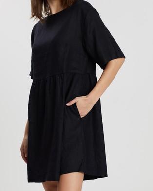 Assembly Label Drawn Dress - Dresses (Black)