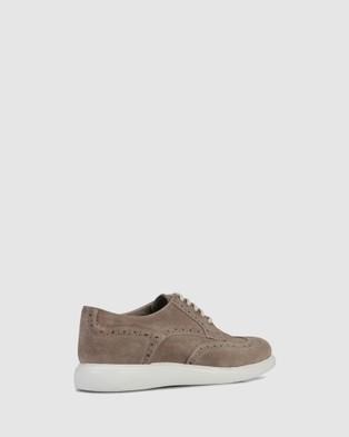 Brando - Harvey Casual Lace Ups Shoes (BROWN-200)