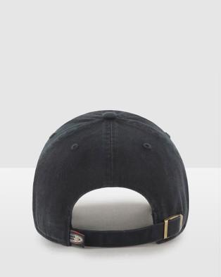 47 - Anaheim Ducks Black '47 Clean Up - Hats (Black) Anaheim Ducks Black '47 Clean Up