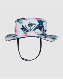 Roxy - Girls 2-7 New Bobby Reversible Bucket Hat