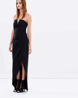 Bianca Spender – Cotton Silk Phantasm Dress – Dresses (Black)
