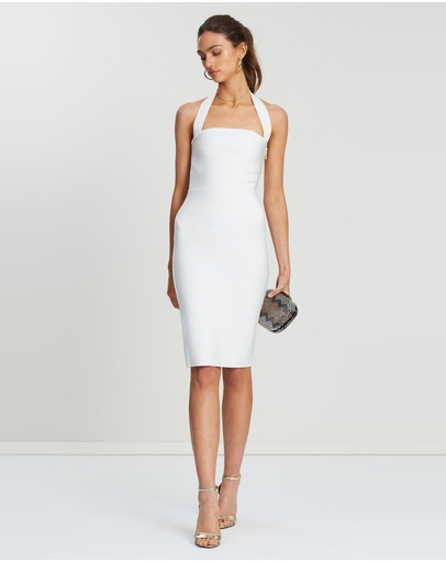 Loreta Emily Dress White