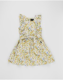 Rock Your Kid - Spring Florals Babette Dress - Kids
