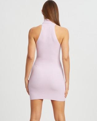 BWLDR Epic Knit Dress - Bodycon Dresses (Lilac)