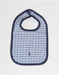 Polo Ralph Lauren - Houndstooth Cotton Bib - Babies