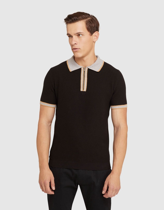 Oxford - Connell Knitted Polo