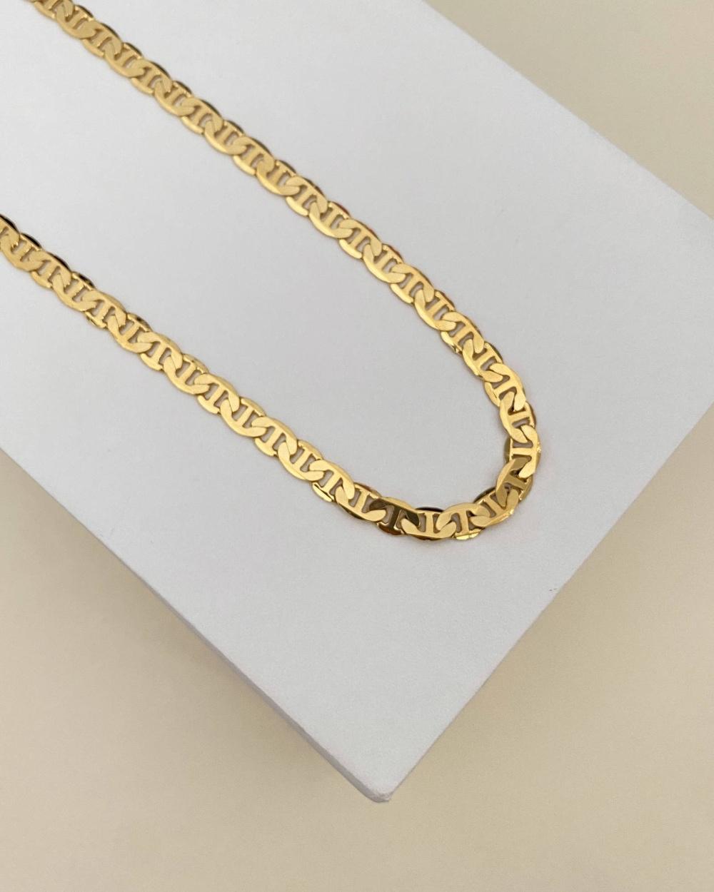 ALIX YANG Finn Chain Jewellery Gold