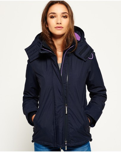 Superdry - Pop Zip Hooded Arctic Windcheater Jacket
