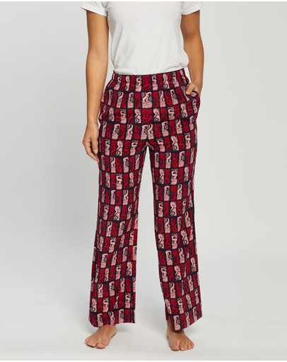 Kenzo Mermaids Trousers Midnight Blue