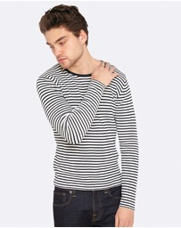 Oxford - Hugo Striped Knit Pullover