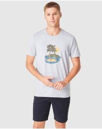 French Connection - Vintage Island T Shirt