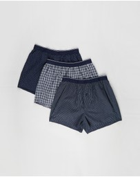 Marks & Spencer - 3-Pack Check Woven Boxers