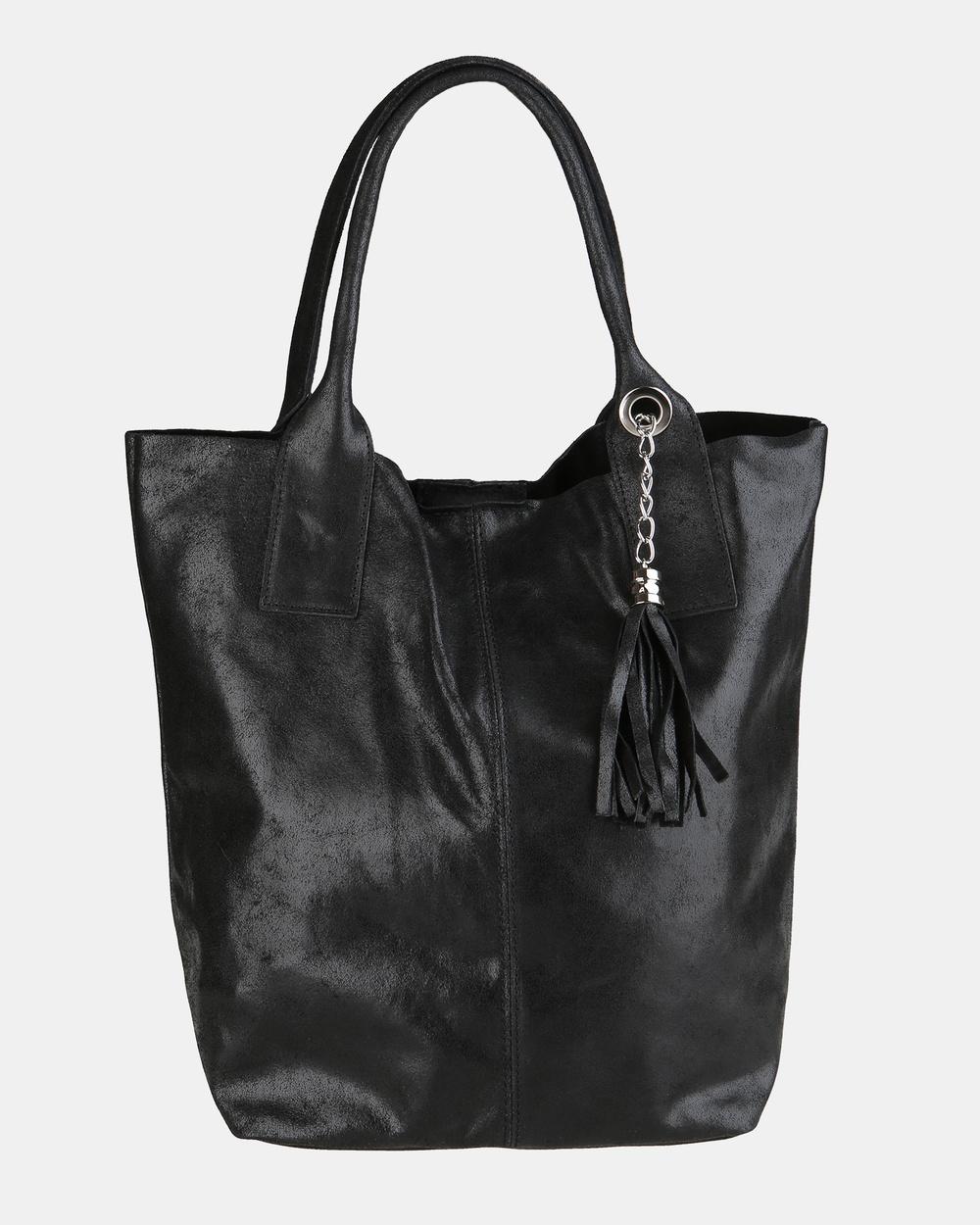 Lux Haide Marvel Oversized Hobo Bag Bags Black Leather bags Australia
