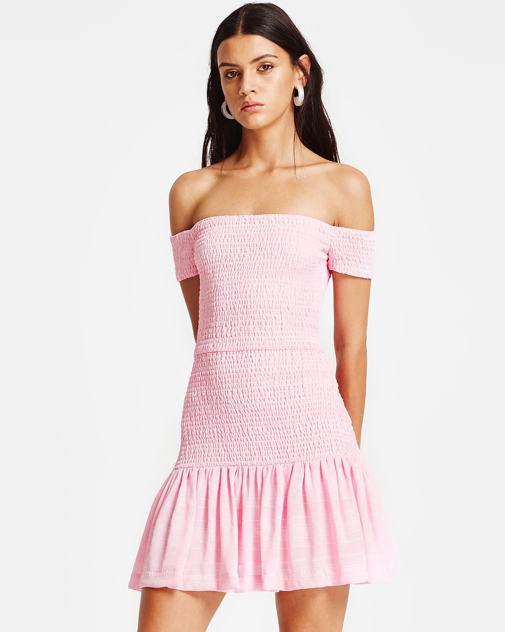 Vestire Cara Dress Dresses Iced Pink Cara Dress