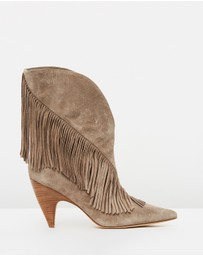 Sigerson Morrison - Giliana Fringe Booties