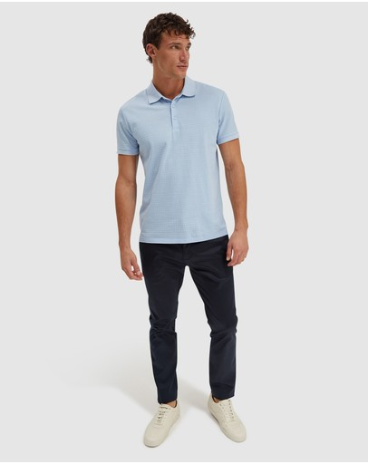 SABA - Carlos textured polo