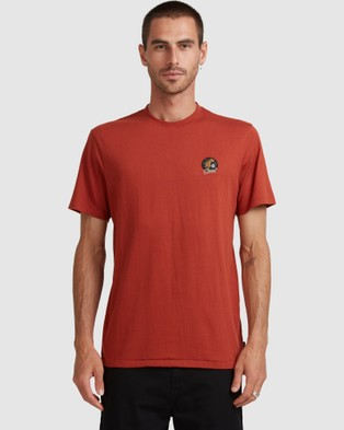 Element - Tiger Palm Short Sleeve Tee T-Shirts & Singlets (PICANTE)