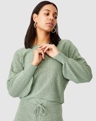 Cotton On Match Me Pullover - Jumpers & Cardigans (Seafoam Green)