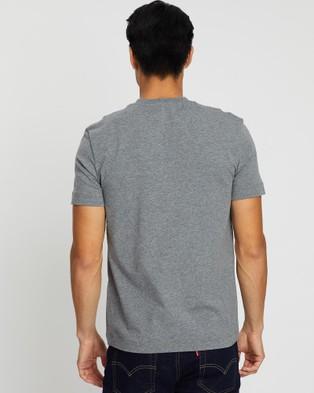 CERRUTI 1881 Crew Neck Patch Pocket T Shirt - T-Shirts & Singlets (Grey)