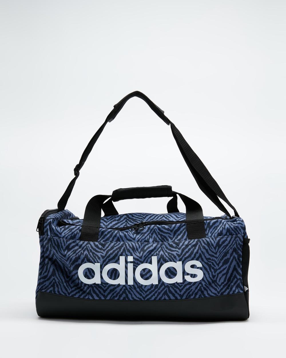 adidas Performance Zebra Duffle Bags Orbit Violet, Legend Ink & Black Botto