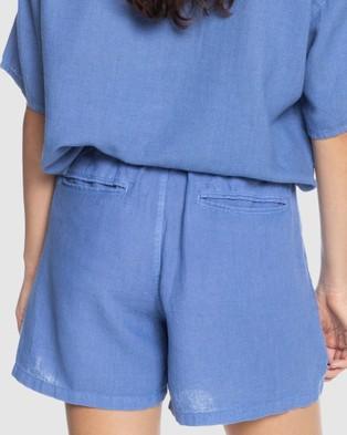 Quiksilver Quiksilver Womens Elasticated Shorts - Chino Shorts (STONE WASH)