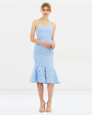 CAMILLA AND MARC – Benito Midi Dress – Bridesmaid Dresses Deluge Blue