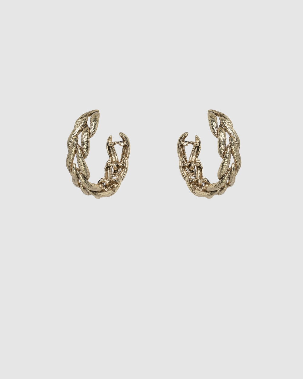 Kitte Madera Hoops Jewellery Gold