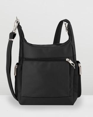 Travelon Classic Messenger Bag - Bags (Black)