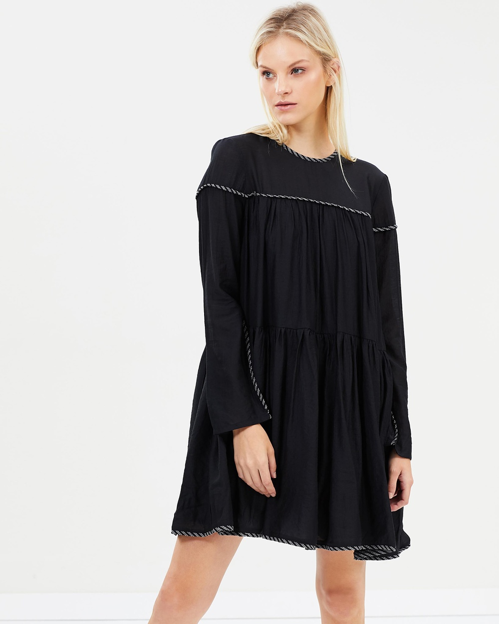 PFEIFFER The Rocket Mini Dress Dresses Black The Rocket Mini Dress