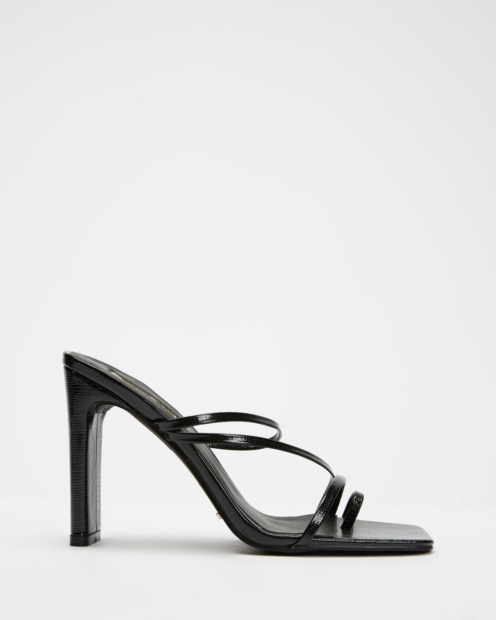 Billini Cascade Sandals Black Scale