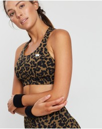 Running Bare - Classic Power Up Cross Back Crop Top