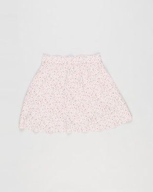 Abercrombie & Fitch Ditsy Floral Skirt   Teens - Skirts (Pink)