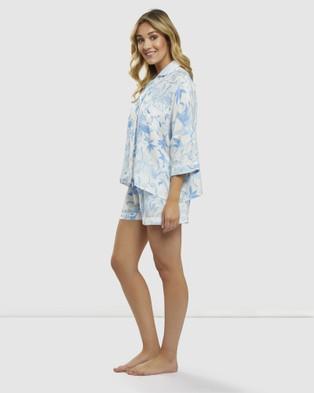 DREAM WITH ME Lily Pyjama Short Set - Two-piece sets (Blue)