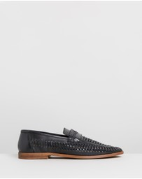 Staple Superior - Molina Woven Leather Loafers