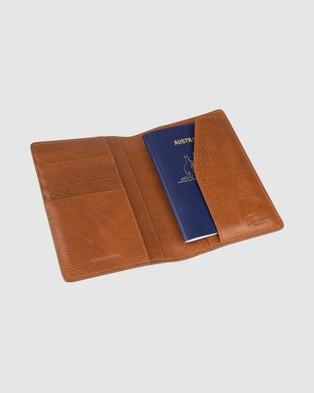 Florsheim Newark Passport Wallet - Wallets (Tan)