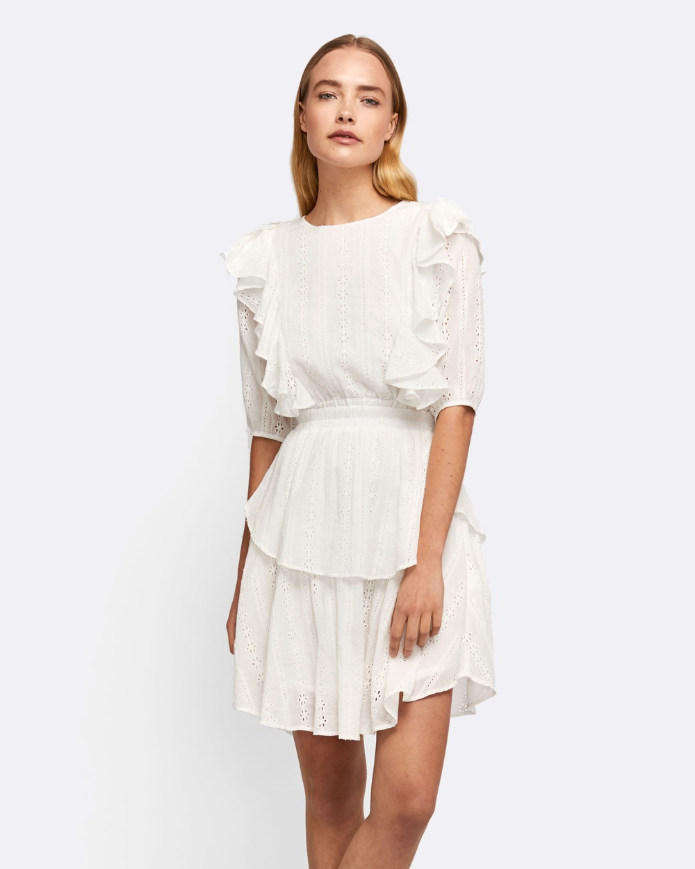 MVN Notting Hill Dress Dresses White Notting Hill Dress