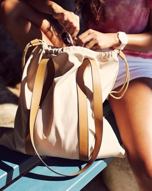 The Horse The Sunday Bag - Beach Bags (Cream / Tan)